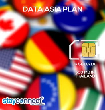 Buy International SIM Card for Asia 1