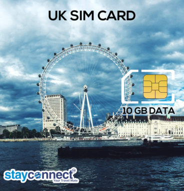 Uk SIM Card | Buy Stayconnect SIM Card for UK in India 1