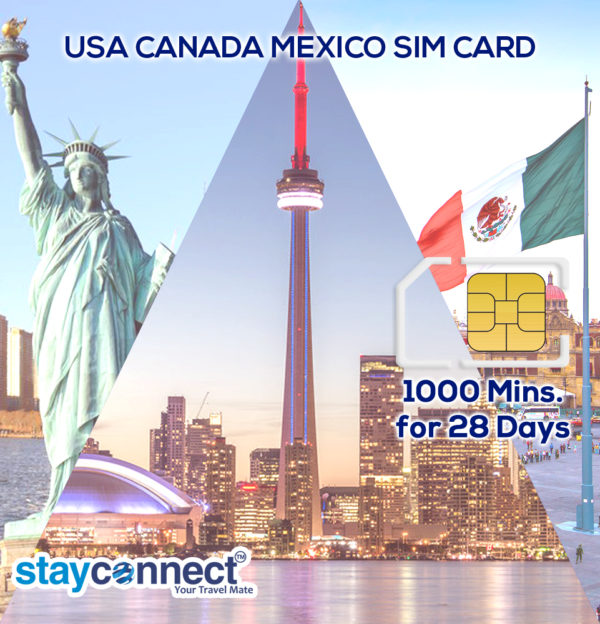 USA CANADA AND MEXICO (PINK) UNLIMITED DATA FOR 28 DAYS PLAN 1